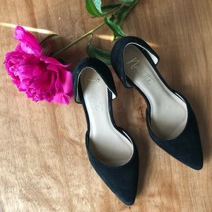 Nanette Lepore Scarlet d'Orsay Pointed Toe Heels